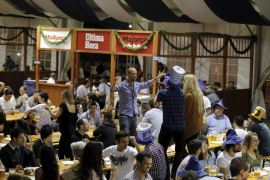 Das Oktoberfest in Palma de Mallorca ist zu Ende. Weiter geht es in Santa Ponça.
