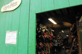 Die Werkstatt im Carrer Rector Llompart ist von Montag bis Freitag von 15 bis 20 Uhr geöffnet.