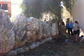 Bürger putzen Talayot heraus