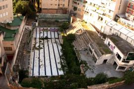 Sicher einer der hässlichsten Pools auf Mallorca: das ehemalige Schwimmbad S'Aigo Dolça.