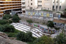 Das ehemalige Schwimmbadgelände S'Aigo Dolça in Palma de Mallorca.