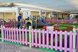 Mehr Spielplätze am Flughafen Palma