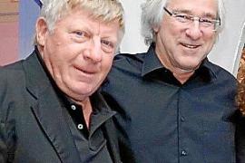 Axel Lange und Bernd Jogalla führten die Versteigerung der Kreuzfahrt durch.