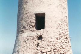 Noch vor vier Jahren war der Wachturm von Cala Figuera auf Mallorca in presentablem Zustand.