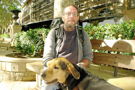 Lobo lebt seit einem Jahr auf Mallorca als Obdachloser