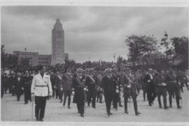Zur Einweihung des Denkmals im Jahre 1948 kam General Franco nach Palma.