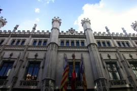 Der jetzige Amtssitz des Inselrates: Ein neogotischer Stadtpalast, direkt neben dem Rathaus von Palma.