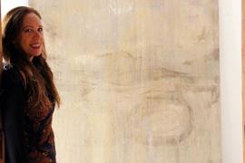Birgitta Maria Elbers bezeichnet ihre Malerei als spirituelle Räume.