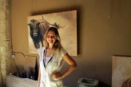 Tiere gehören zu den bevorzugten Bildmotiven von Greta Mila.