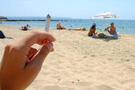 Paffen an der Playa verboten
