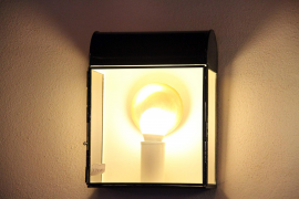 Eine der Lampen, wie sie Biel Cortés geschaffen hat.