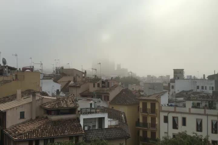Mallorca im Nebel