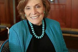 Sylvia Earle nach ihrem Vortrag im Hotel St. Regis Mardavall in Costa d'en Blanes.