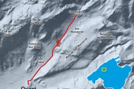 Karte 2: Der Olivenhain in Comassema