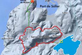 Karte 1: Auf dem Camino de Muleta zum Hafen von Sóller.
