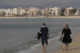 Wintertourismus auf Mallorca.