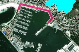 Der geplante Umbau direkt am Hafen untersteht in Alcúdia im Norden von Mallorca der Hafenbehörde.