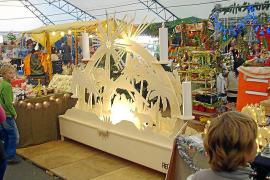 Der Weihnachtsmarkt in Santa Ponça ist am Sonntag, 29. November, mit einem Kinderflohmarkt verbunden.
