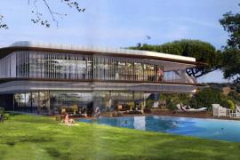 Und so soll das Tenniszentrum im Sommer 2016 in Santa Ponça aussehen.