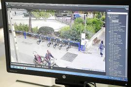 Die Verleihstationen von Bicipalma werden kameraüberwacht