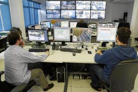 In der Zentrale werden die verschiedenen Verleihstationen von Bicipalma kontrolliert