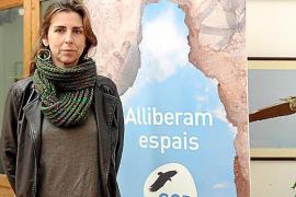 Margalida Ramis am Mittwoch am Sitz des GOB in Palma.