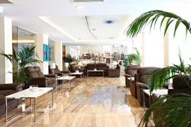 Im Foyer des neuen Miró-Hotels in Palma de Mallorca werden Werke des Künstlers ausgestellt.