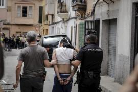 """Bei der Operation """"Nero"""" im Juni auf Mallorca."""