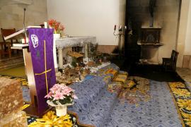 Dieb verursacht Klosterbrand in Sineu