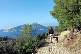 Das Meer zu Füßen und die Insel Dragonera als Kulisse.