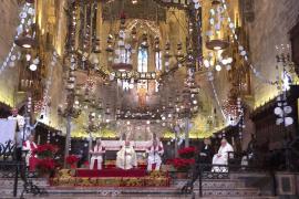 Deutschsprachiger Weihnachtsgottesdienst 2015 in der Kathdrale von Palma.