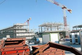 So sieht es derzeit noch auf der Baustelle des Einkaufszentrums S'Estada aus.