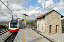 10,5 Millionen Euro steuerte die EU zum Umbau des Bahnhofs Enllaç nahe Inca, Mallorca, bei.
