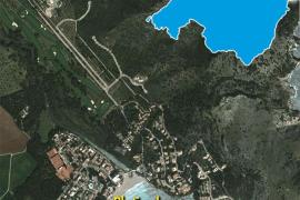 Der Lageplan von Canyamel im Nordosten von Mallorca.