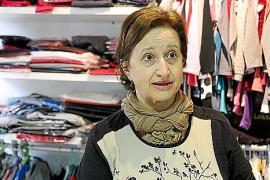 """Antonia Pizá ist Einzelhändlerin in Sant Jordi. """"Früher gab es hier viel mehr Läden."""""""