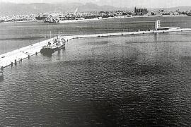 In den 50er Jahren wurde mit dem Bau der Muelle de Paraires begonnen.