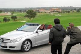 Mercedes ganz offen auf Mallorca