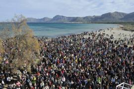 5000 Menschen für Son Serra de Marina