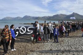 """Die Initiatoren der Plattform """"SOS Son Serra"""" hatten zu dem Protest aufgerufen"""