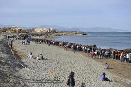 Streit um Strand mit Symbolcharakter