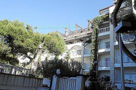 Auch das Aparthotel Plaza Son Rigo wird zurzeit um eine Etage aufgestockt.