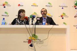 Balearen-Präsidentin Armengol und Tourismusminister Barceló bei der Fitur in Madrid.