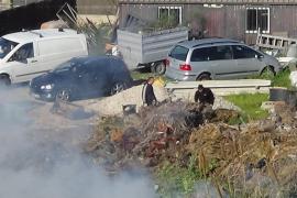 Gegen das Verbrennen von Gartenabfällen