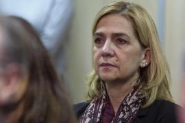 Cristina de Borbón vor Gericht auf Mallorca.