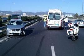 Panik durch Geisterfahrer auf Flughafenautobahn