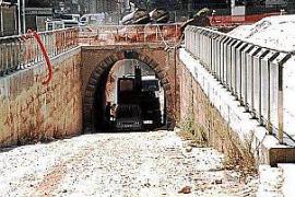 Das waren die Rampe und die Tunnelöffnung am Hauptbahnhof.