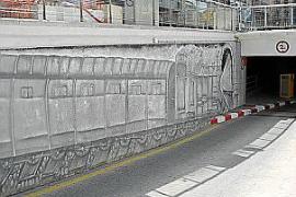 Wo früher der Zug einfuhr, rollen nun Autos in die Tiefgarage.