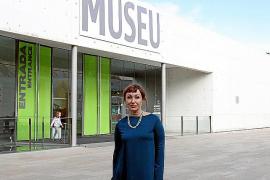 Die Direktorin des Museums Es Baluard in Palma, Nekane Aramburu, stellte das Programm vor.
