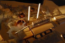 Arbeiten des Architekturwettbewerbs von 2008.