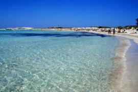 Ses Illetes schönster Strand Europas